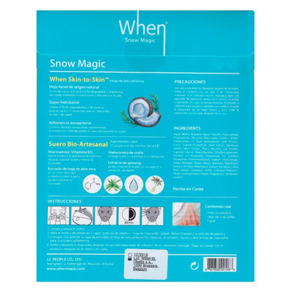 When Snow Magic. The Original Company.