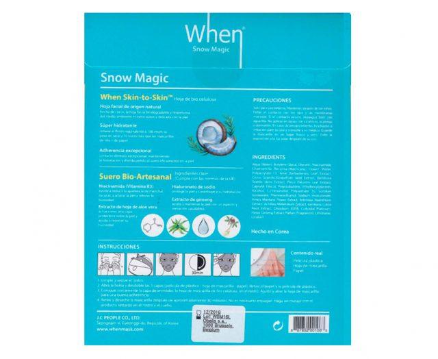 When Snow Magic. The Original Company.